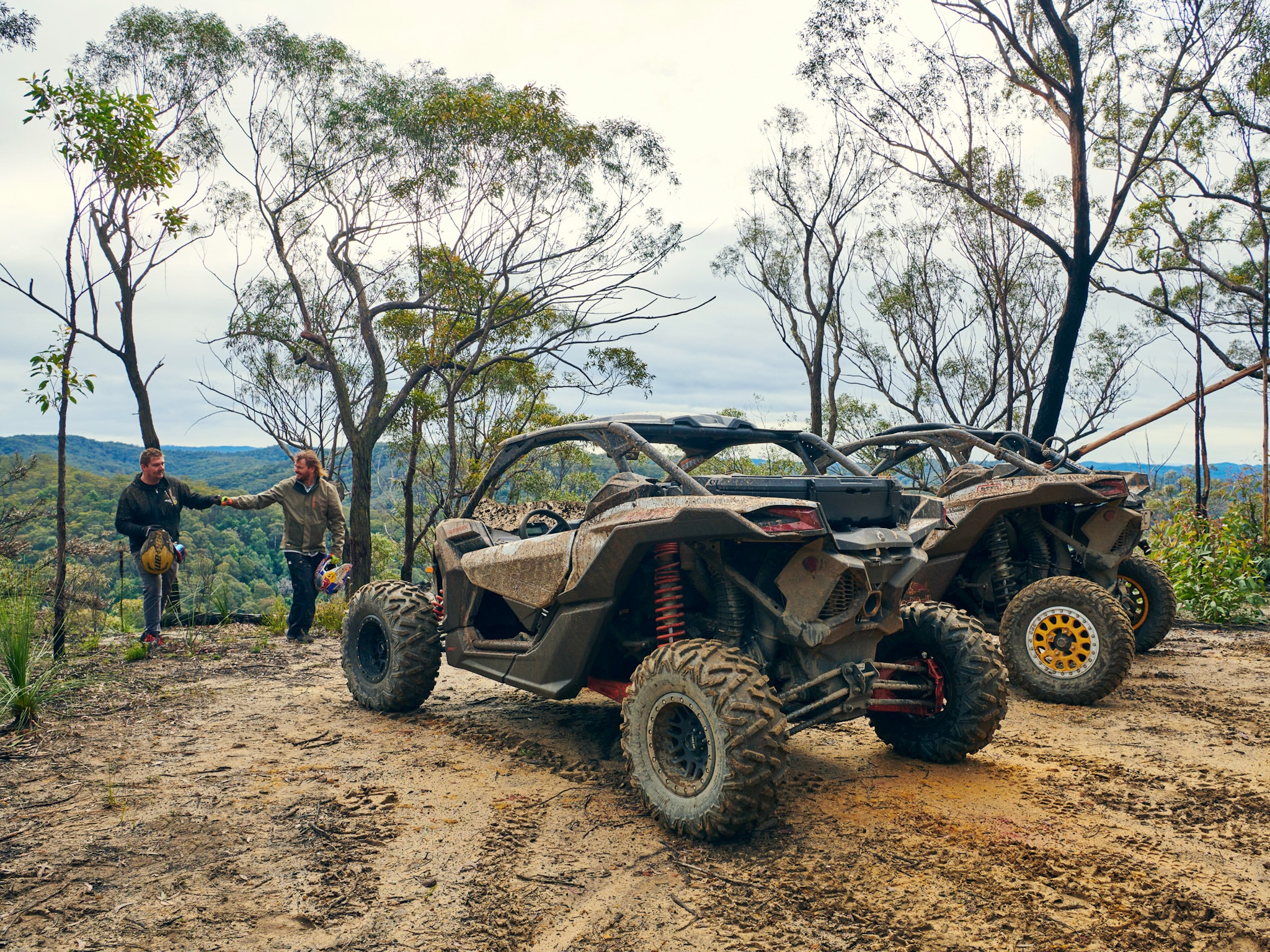 Can-Am Maverick X3 at Tj4b Park in Howes Valley NSW