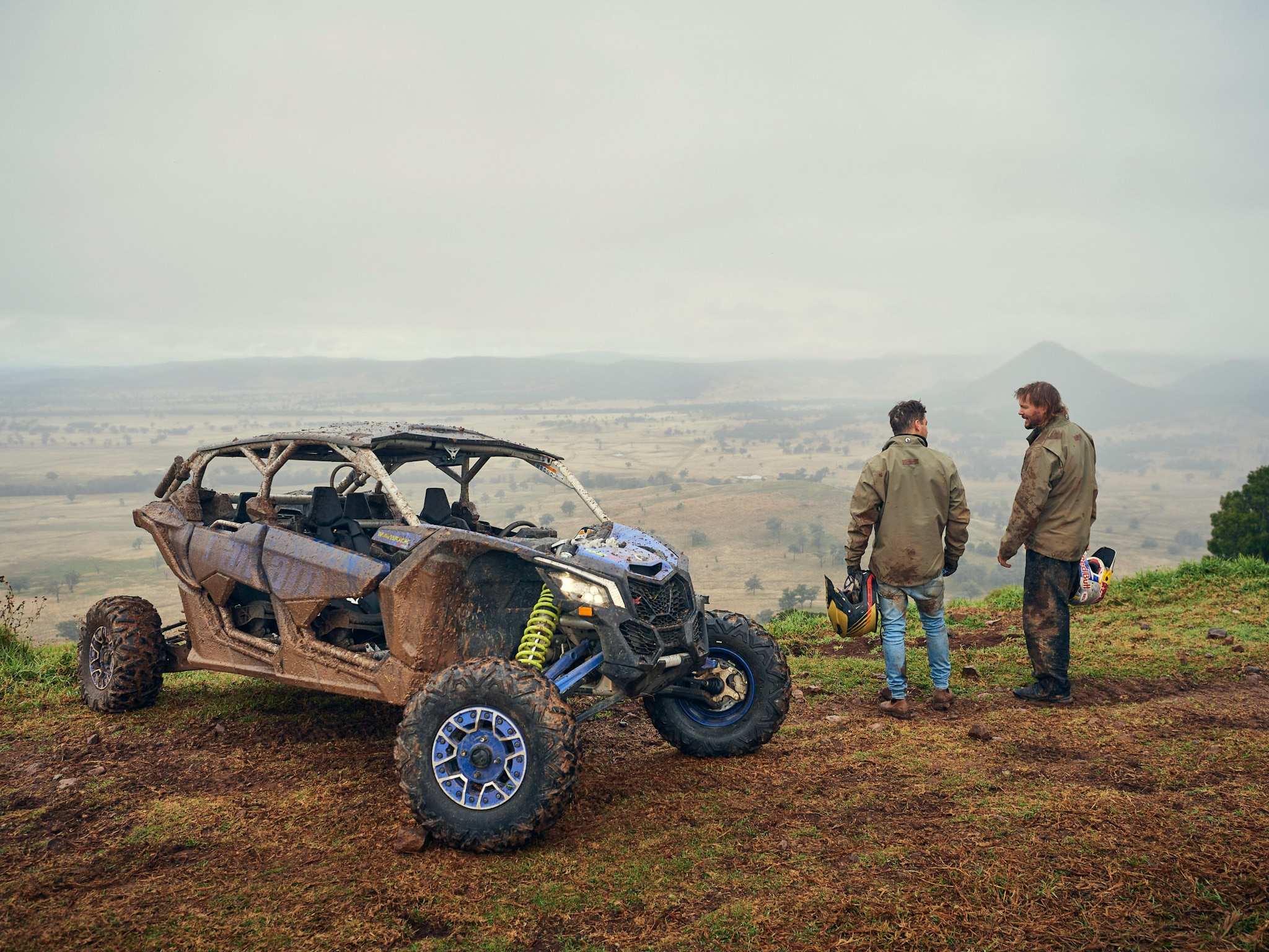 Can-Am Maverick X3 Max with Toby Price and Matty the Explore Life