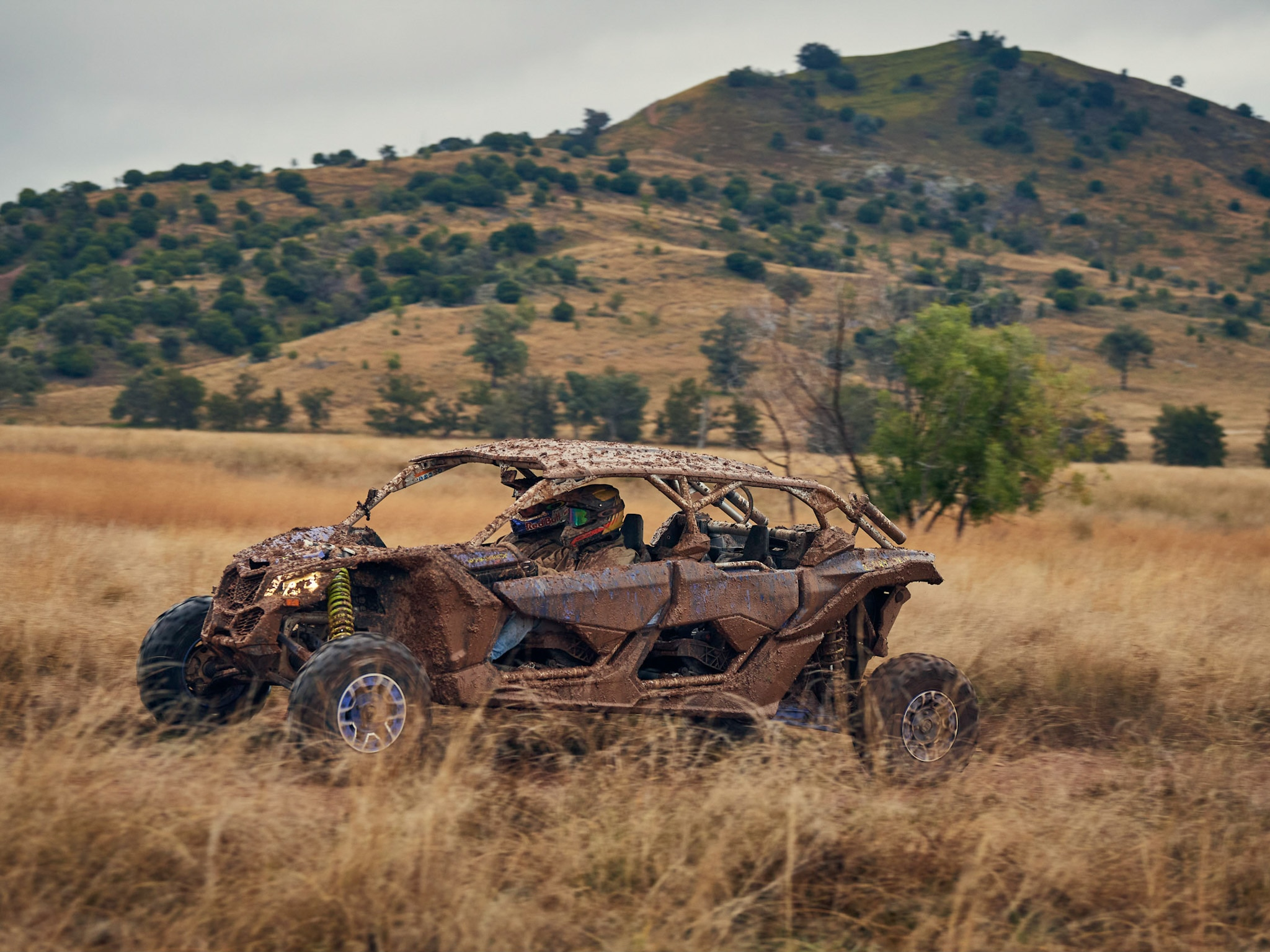 Can-Am Maverick X3 Riding Through the Australian Bush