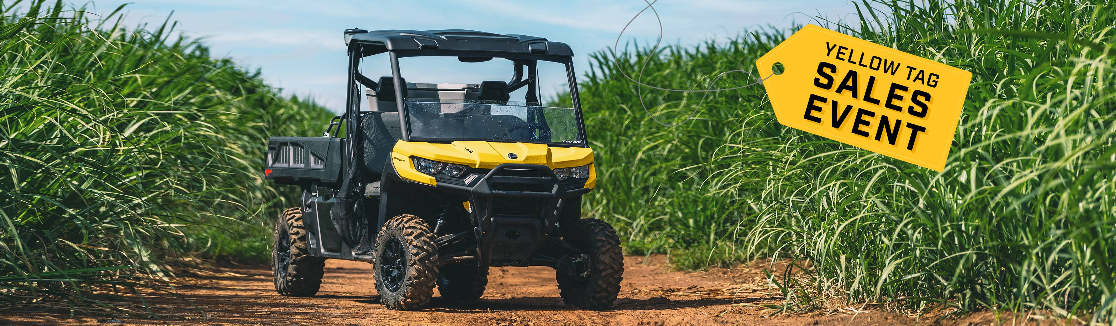 Can-Am Off-Road Summer Promotion offers