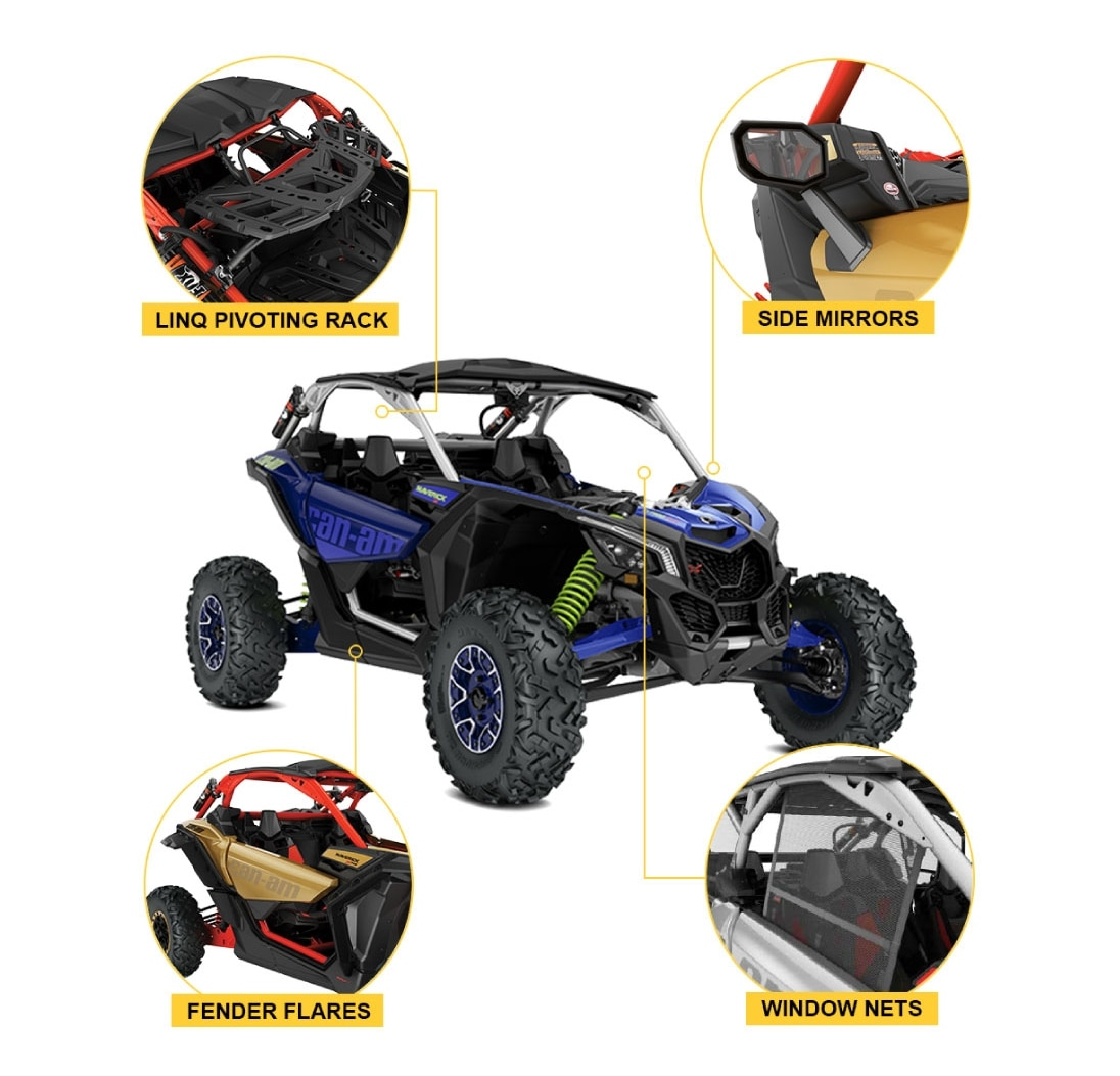 Can-Am Maverick Accessories Package