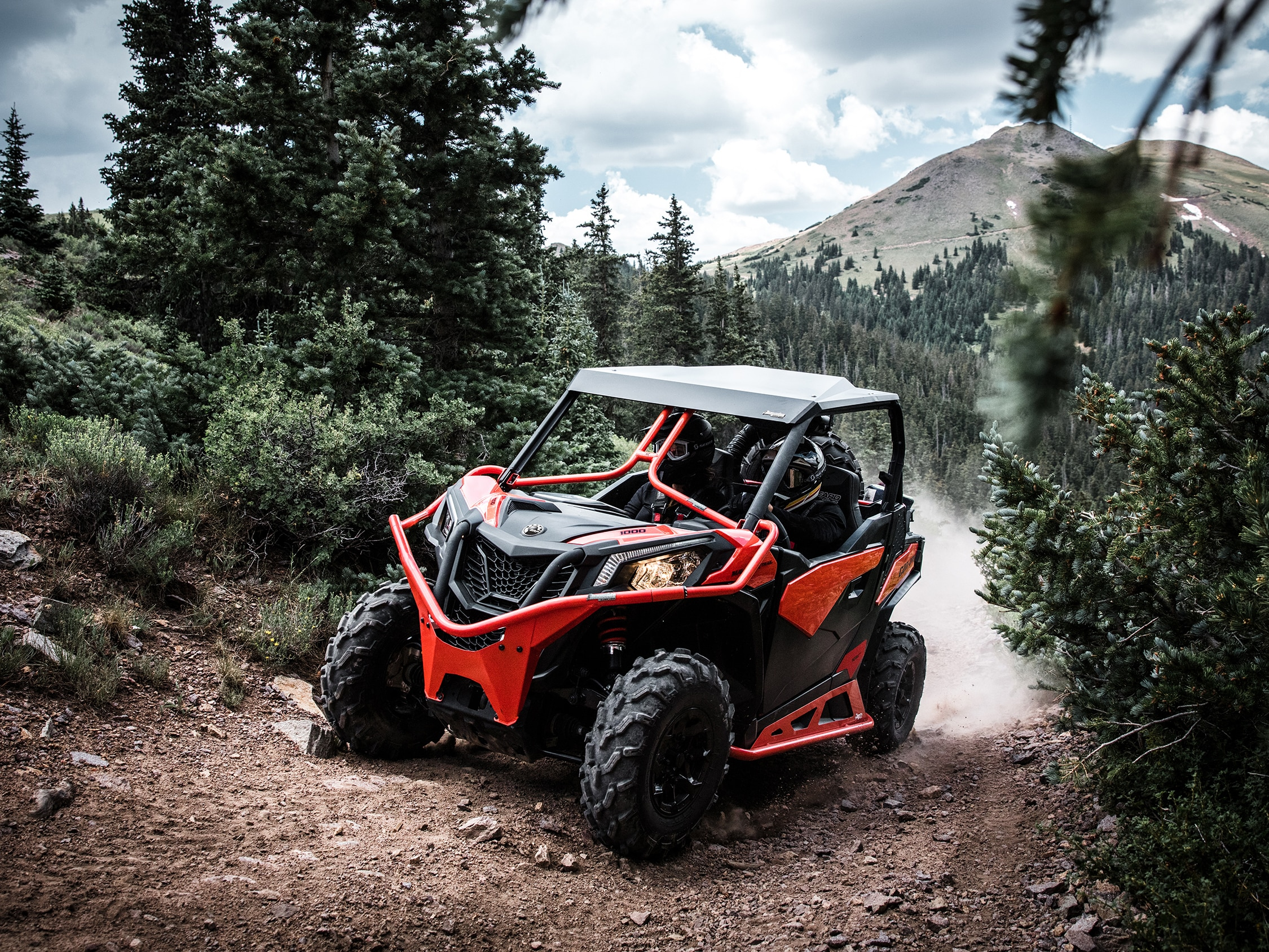 Can-Am Maverick Trail protection bumper skid plate and long life