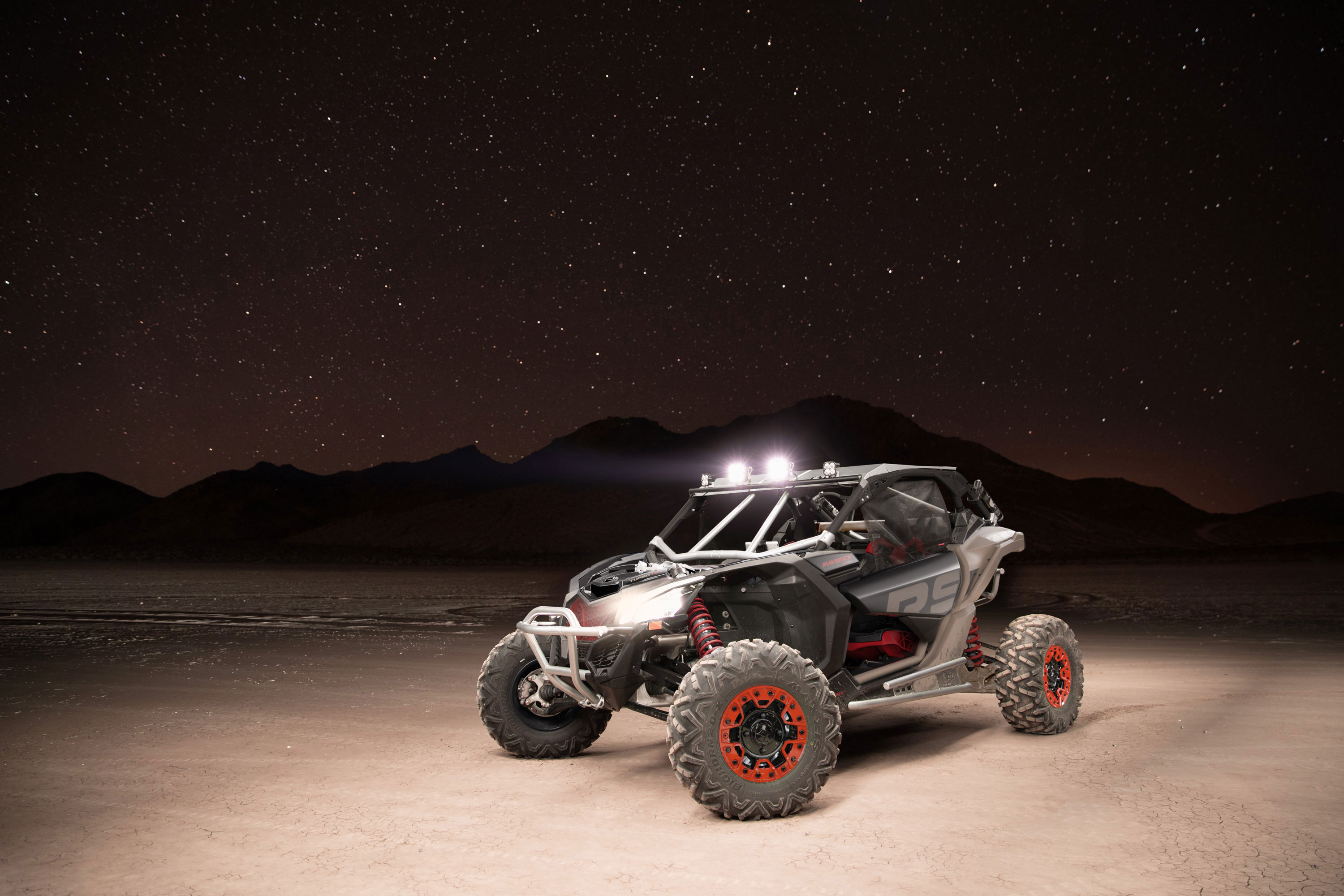 Suspension semi-active Can-Am Maverick X rs Turbo RR