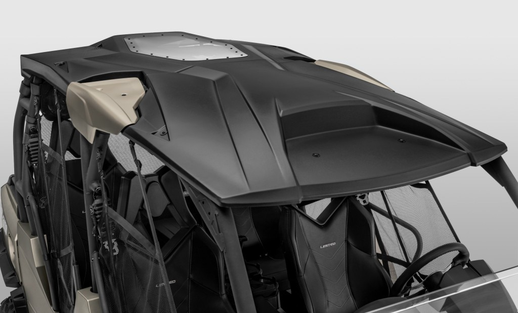 Can Am Commander Max Limited Half Winshield And Premium Roof