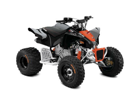 Can-Am DS 90 X Youth ATV Red-Black