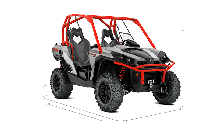 Commander Xt Side By Side 2018 Specs | Can Am