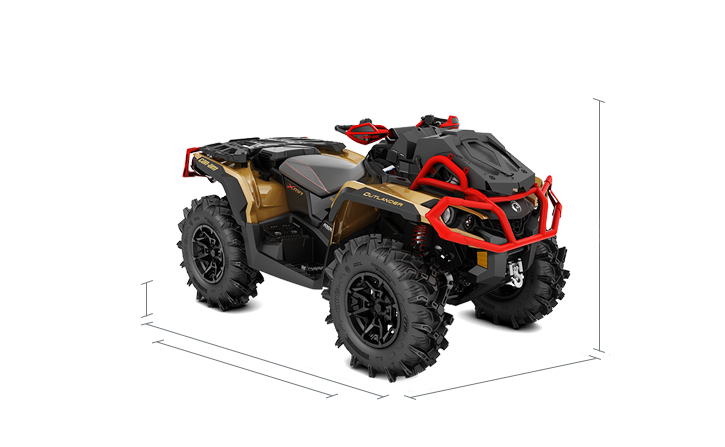 The Wider Reengineered Outlander X Mr 1000r 2019 Can Am Off Road