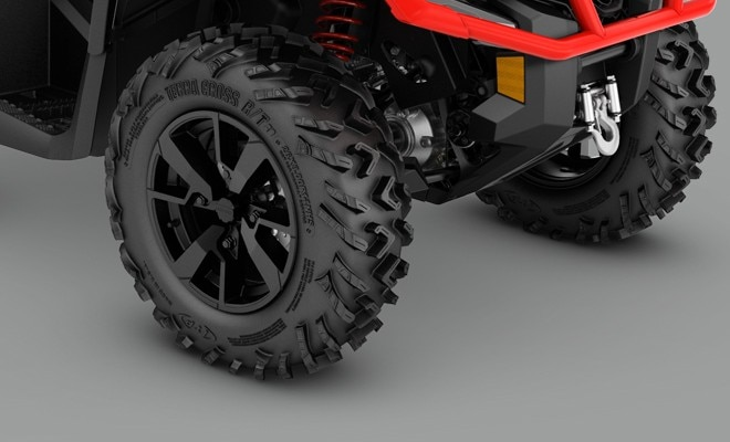 The wider reengineered outlander xt atv 2019 can am off 26 in itp terracross tires and 14 in cast aluminum wheels publicscrutiny Gallery