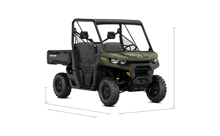 Denfender Side-by-Side 2018 Specs - Can-Am