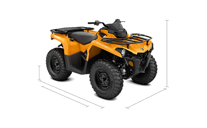 Outlander DPS 450 / 570 ATV 2020 Price & Specs | Can-Am | Can-Am
