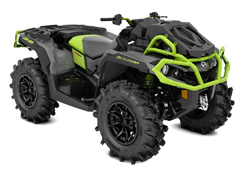 The wider, reengineered Outlander X mr 1000R 2020 Can-Am Off
