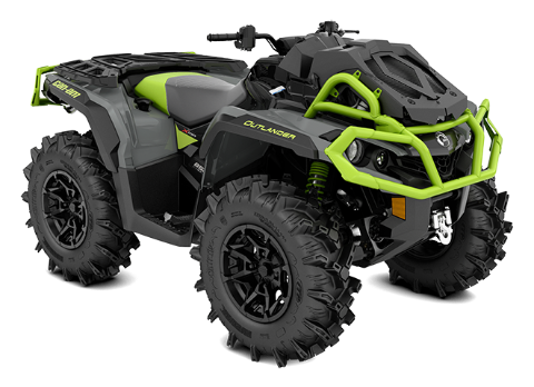 The wider, reengineered Outlander X mr 850 ATV 2020 Can-Am Off-Road