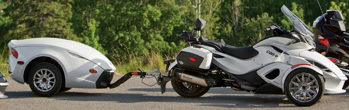 Your ultimate can am spyder travel companion the rt 622