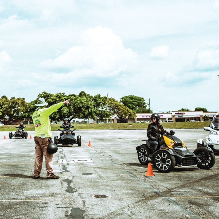 pa motorcycle skills test layout