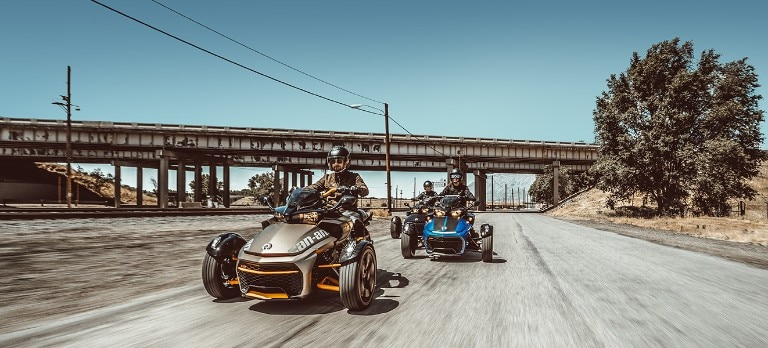 Spyder F3 2019 Sport Cruising Models Can Am On Road