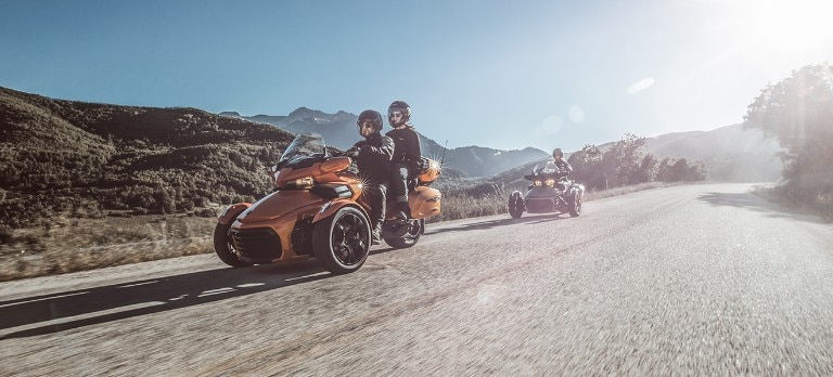 Spyder F3 2019 Cruising Touring Models Can Am On Road