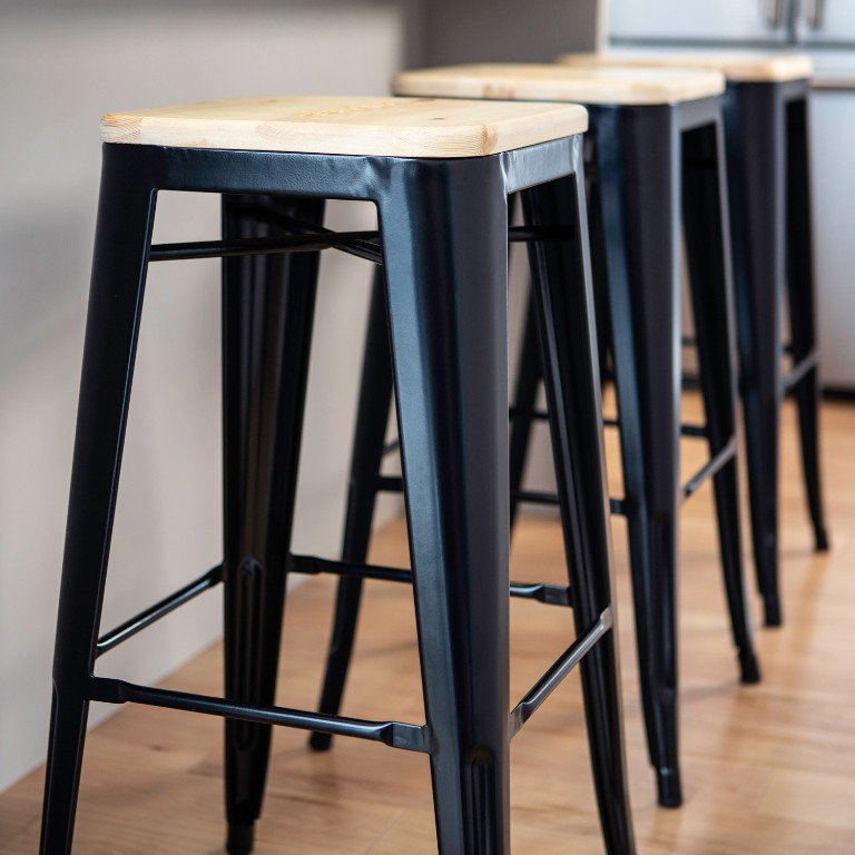 Strange Heritage Metal Bar Stool Garage Can Am Ncnpc Chair Design For Home Ncnpcorg