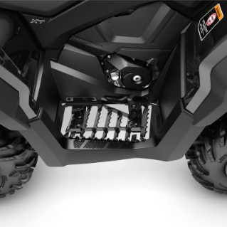 Footpegs & Traction Plates | Can-Am