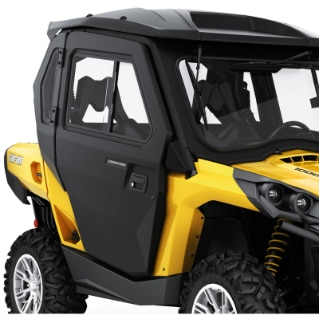 Full Doors for Commander 2014 u0026 up & Side-by-Side (SSV) Doors for Can-Am Models | Can-Am