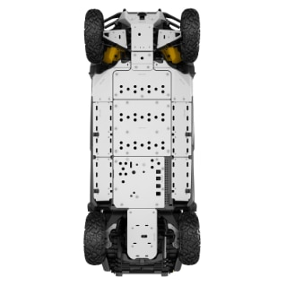 Front Central Skid Plate