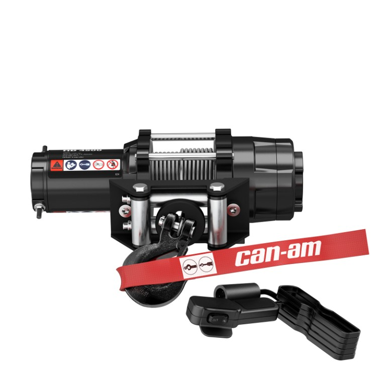 Can-Am HD 4500 Winch | Winches & Hitches | Can-Am on