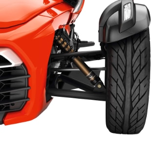Suspension Kits & Shocks | Spyder Accessories | Can-Am On-Road US