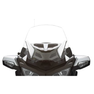 "Adjustable Vented Windshield - 25"" (64 cm)"