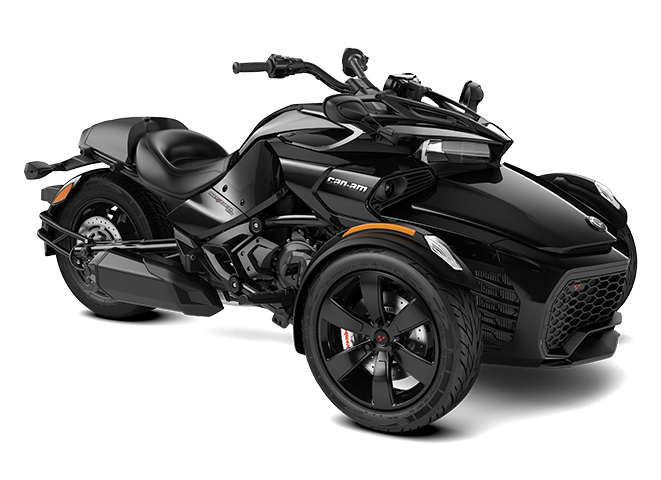 Black Can-Am Spyder F3 3D model
