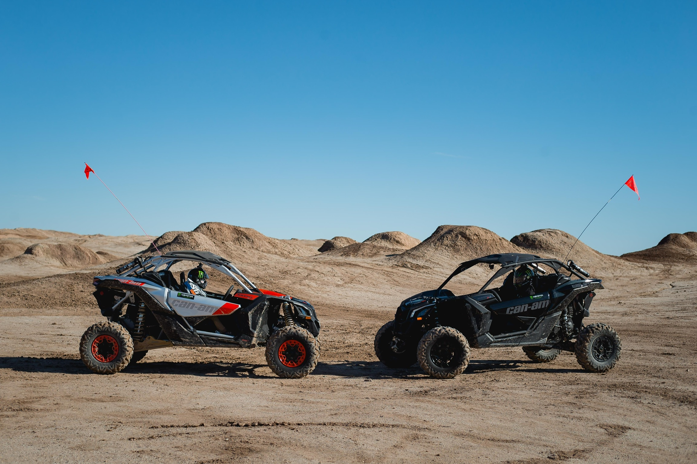 Bryan and Hailie Deegan Can-Am Off-Road