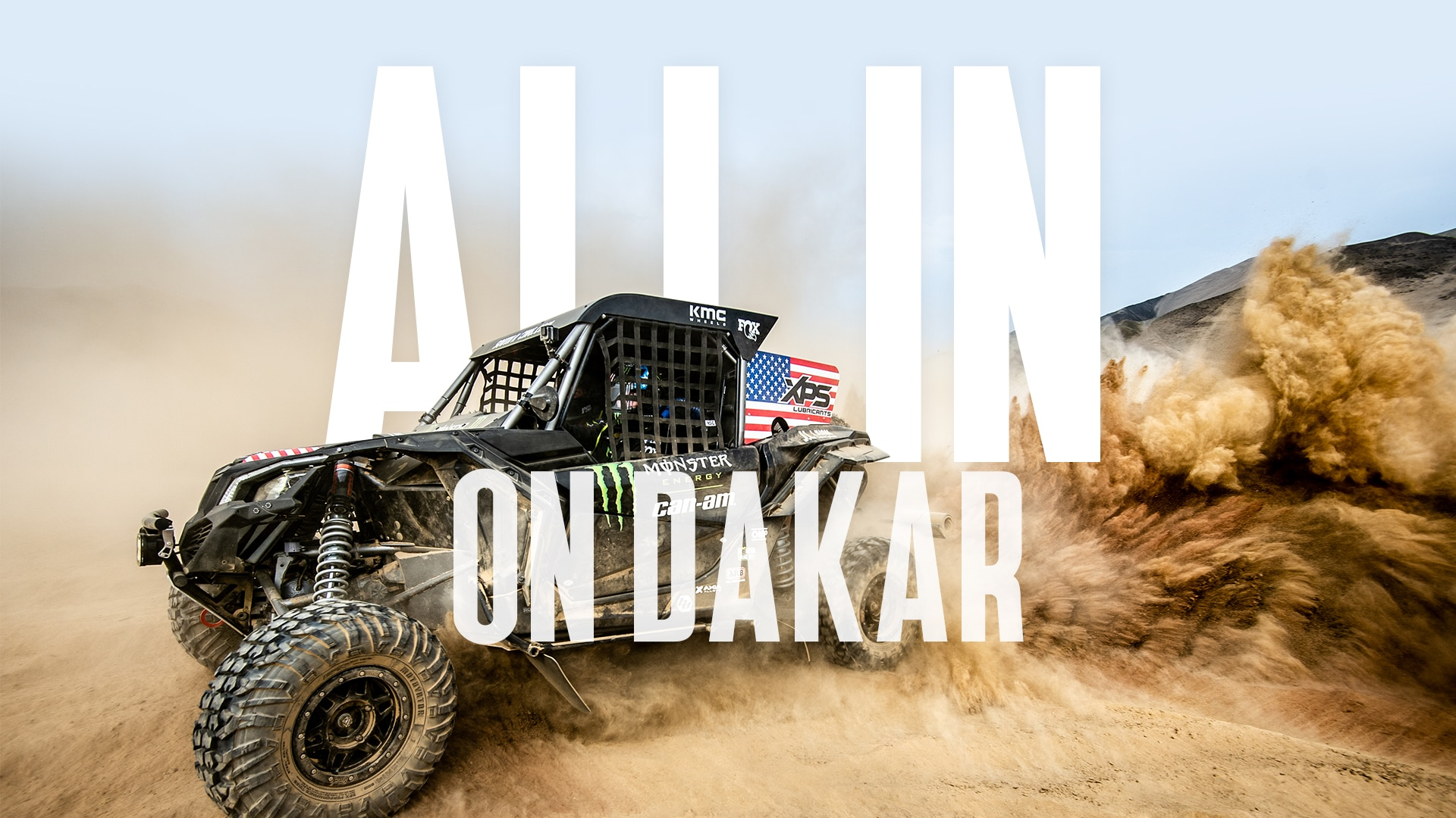 Can-Am serie All In On Dakar