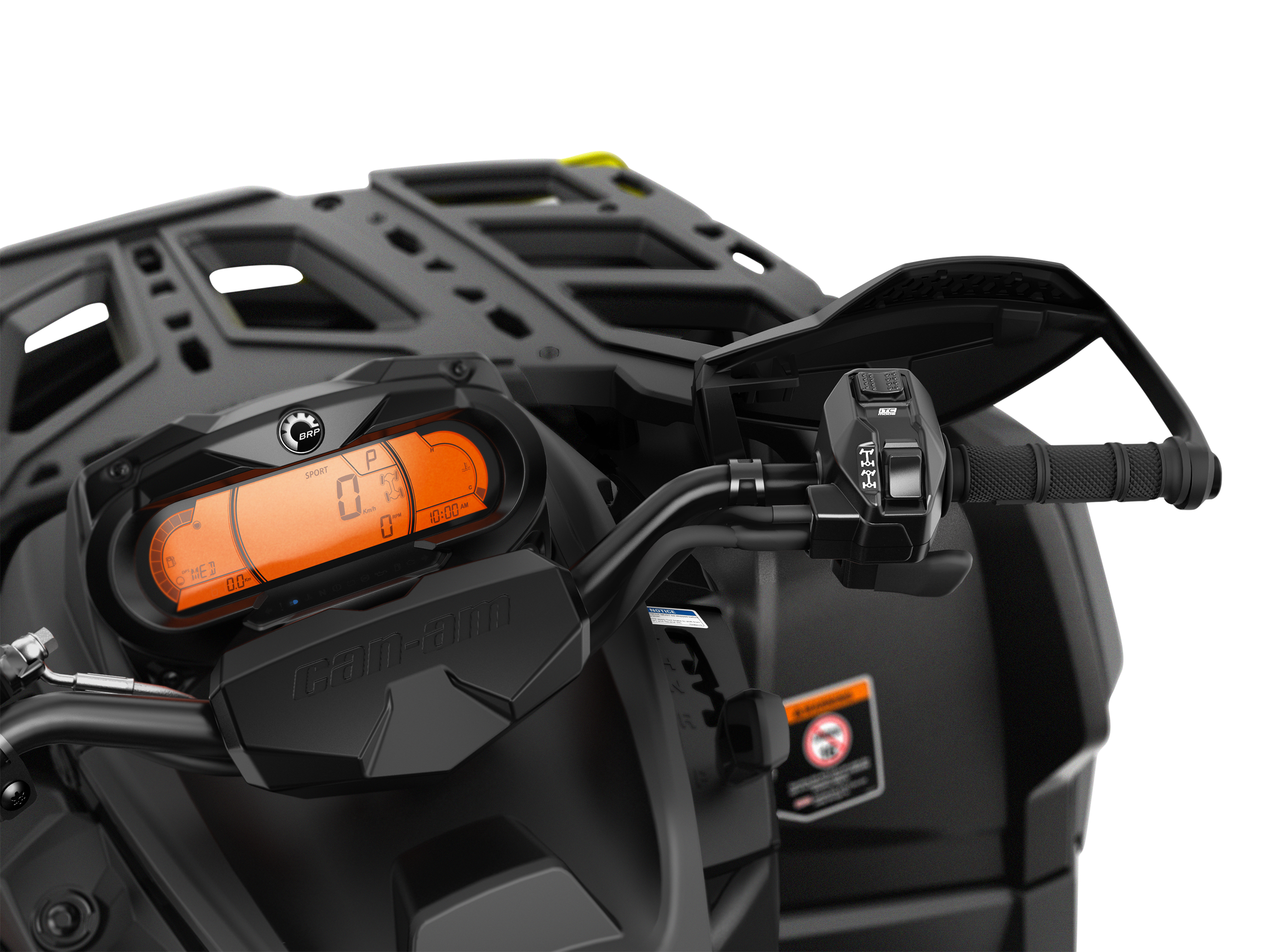 ATV Outlander meter Intelligent Throttle Control
