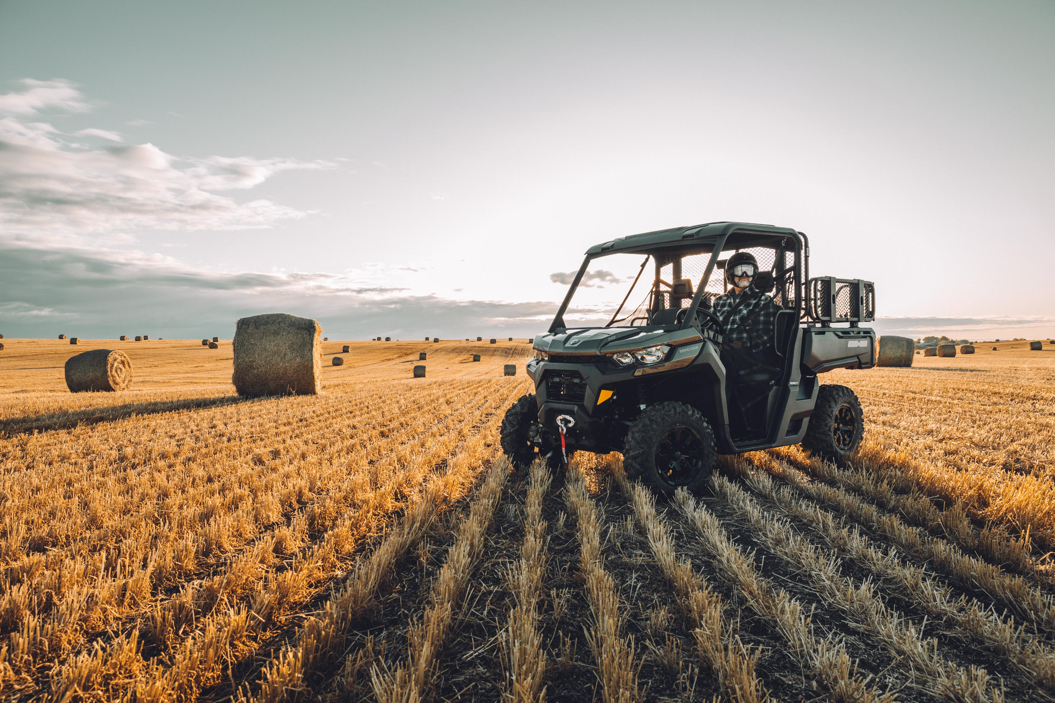 Can-Am Defender Farm agricultural rebate