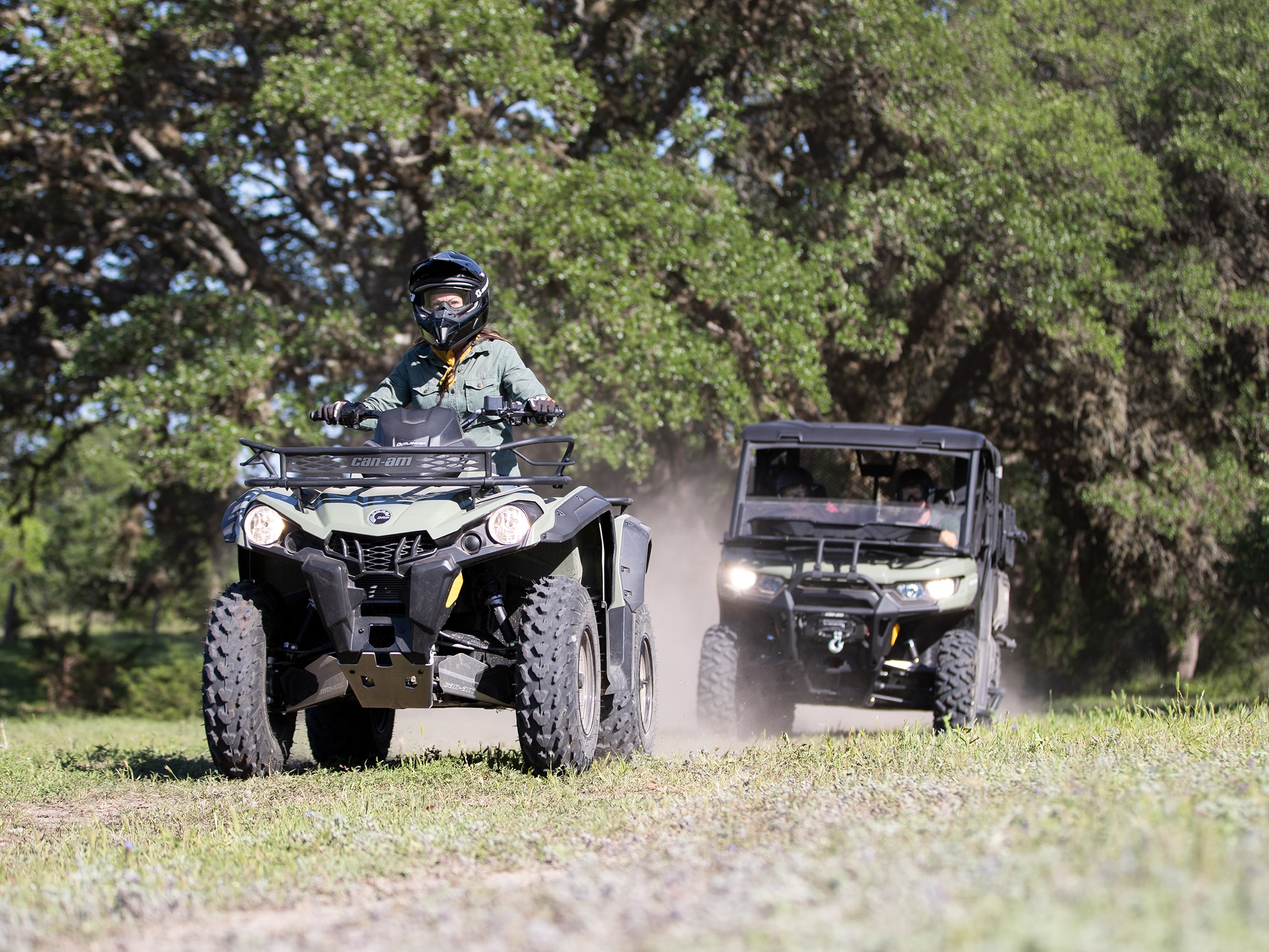 Can-Am Outlander Dynamic power steering