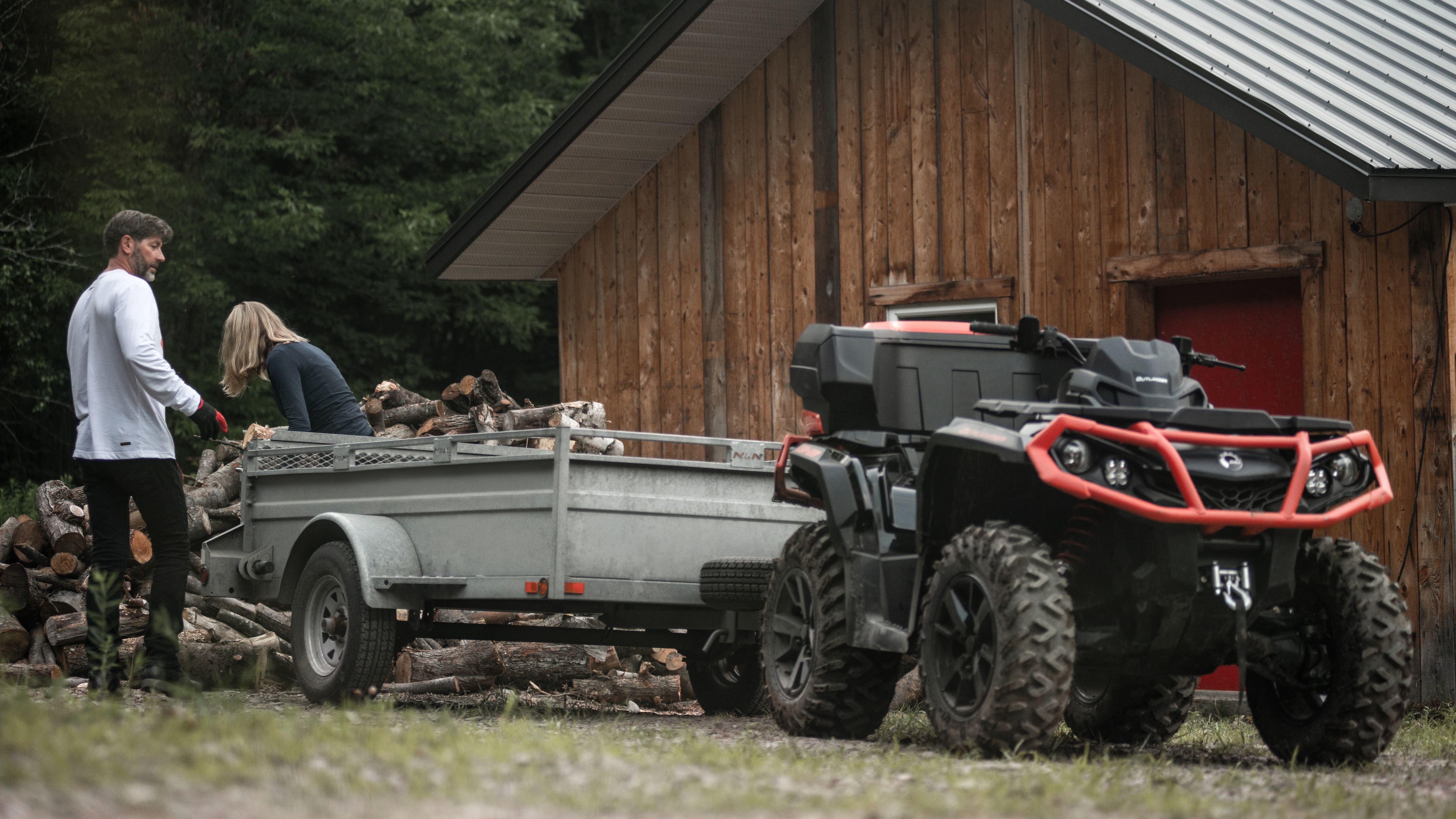 ATV industry leading towing capacity 1650lb