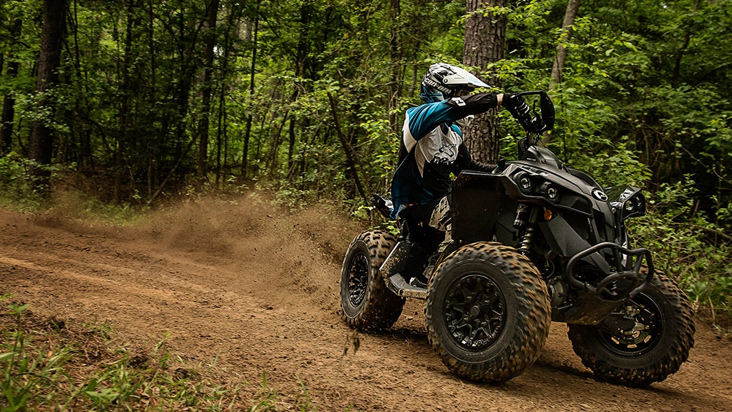 Can-Am Renegade ATV Off-road riding