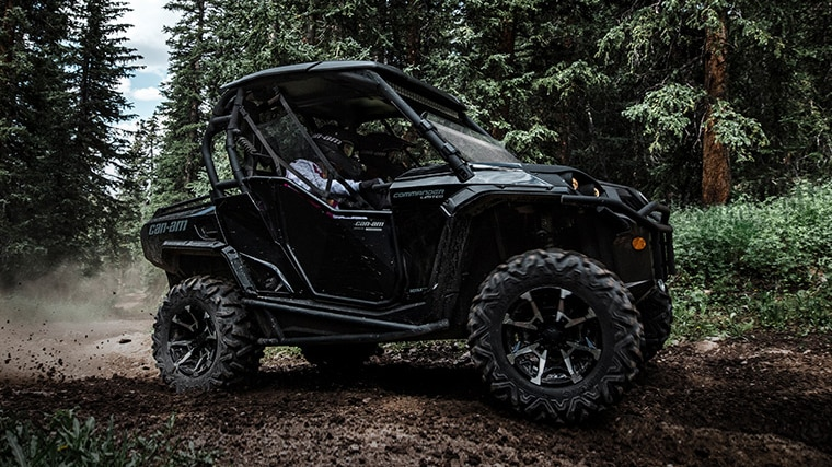 Can-Am Commander personalization and accessories