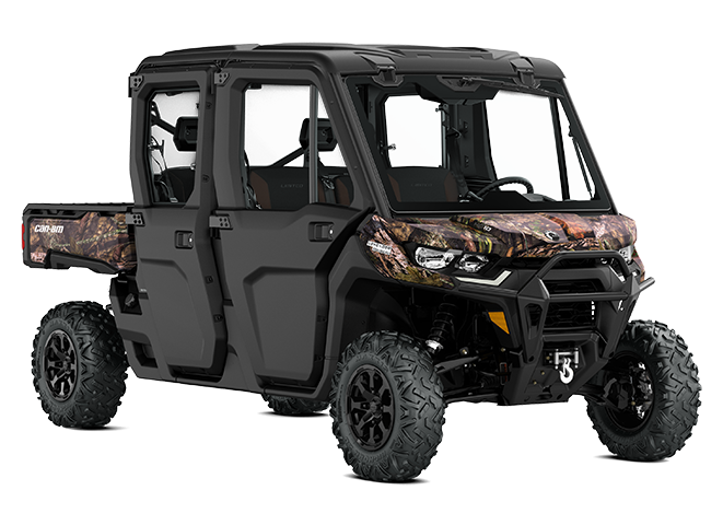 Can-Am Defender Hard Rear Panel//Rear Window