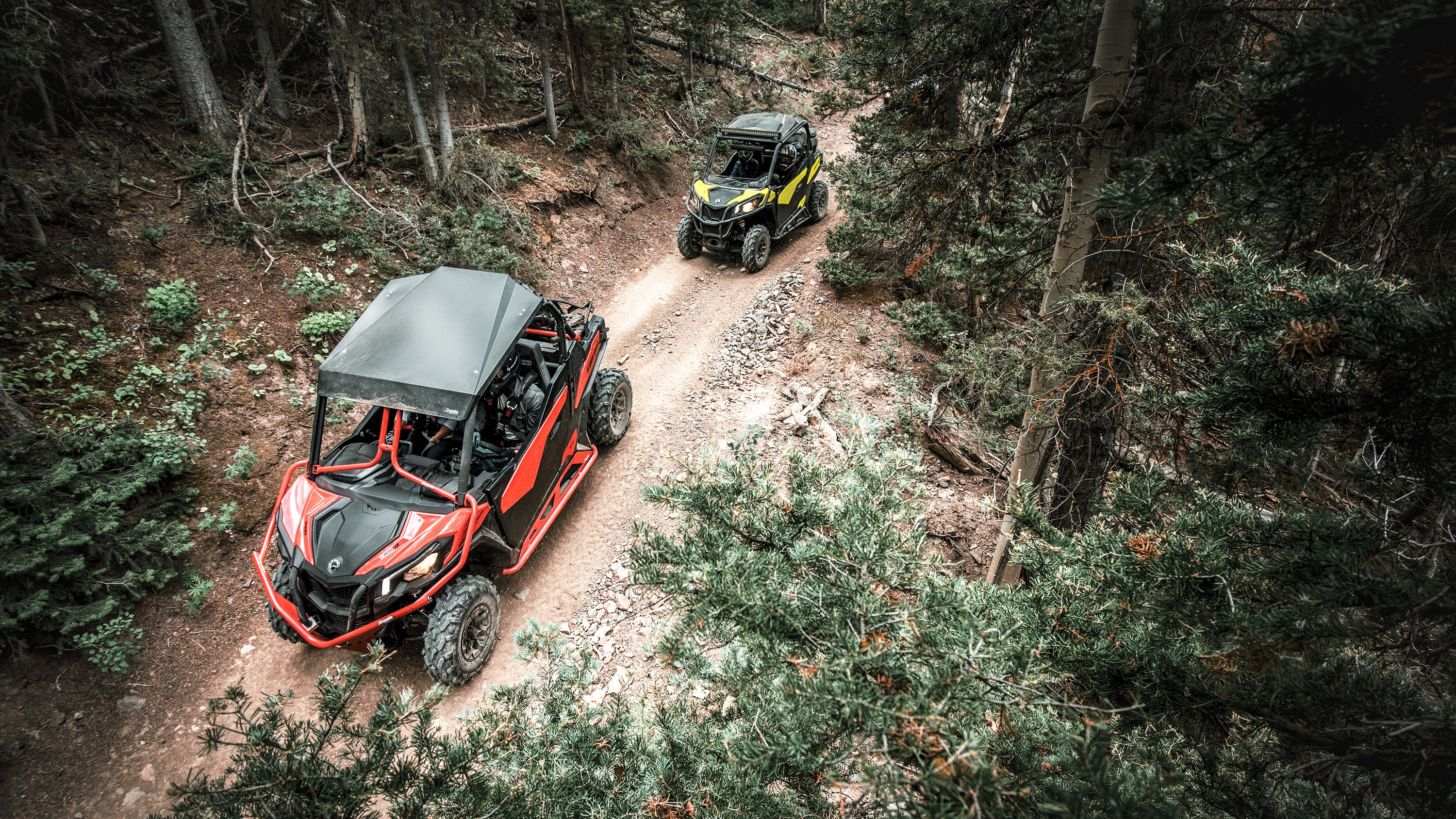 Can-Am Maverick Trail 50 in width trails