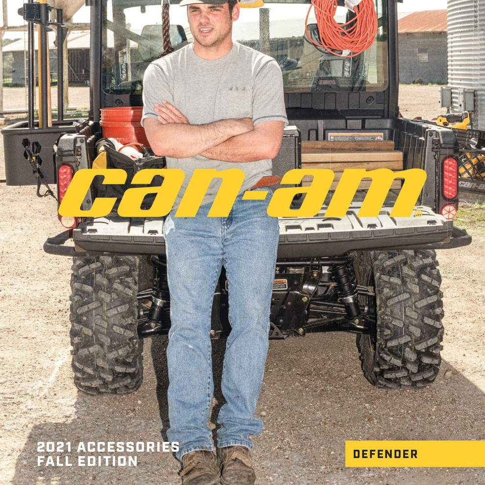Can-Am Defender 2021 Catalog