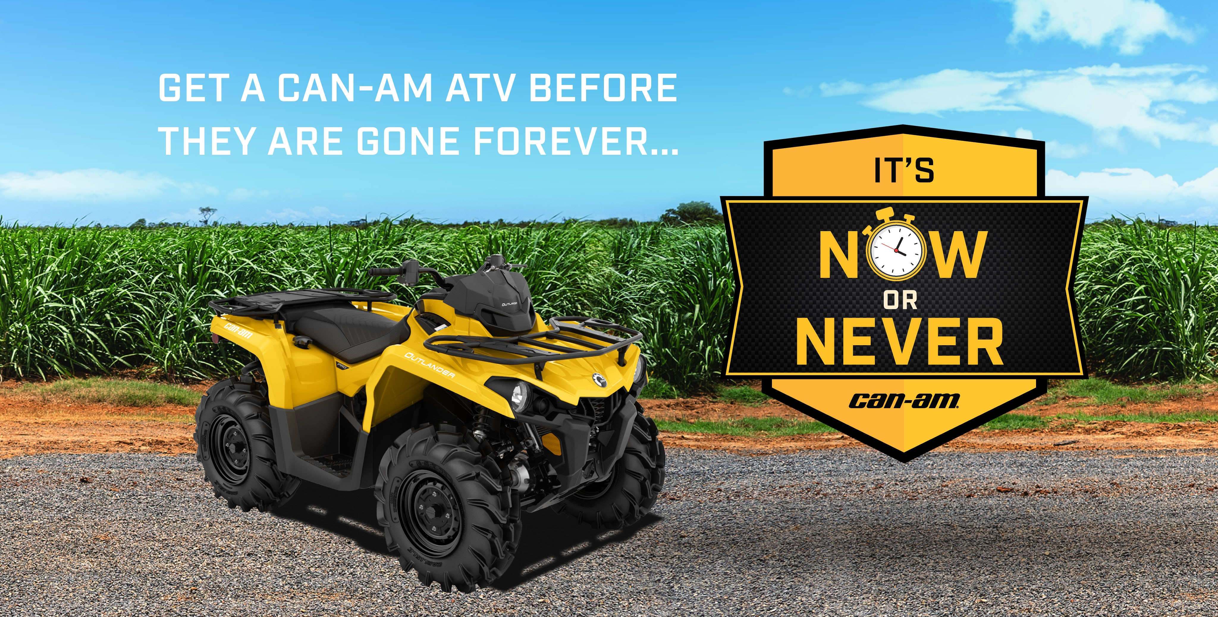 CAN-AM NOW OR NEVER