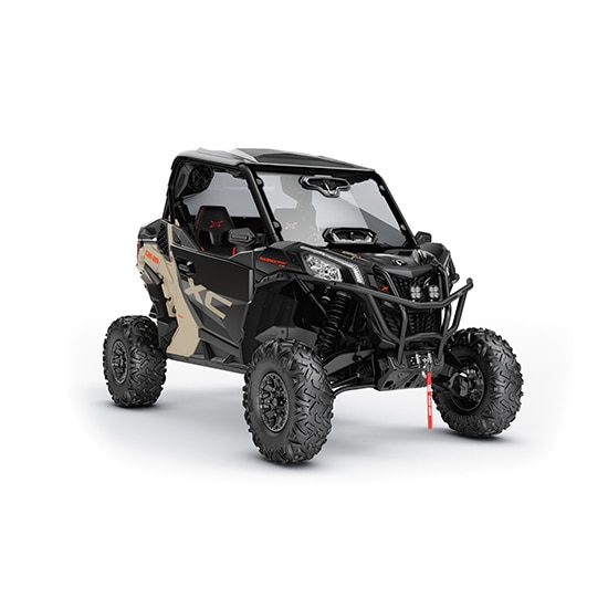 Can-Am Maverick Trail side-by-side accessorized for adventure