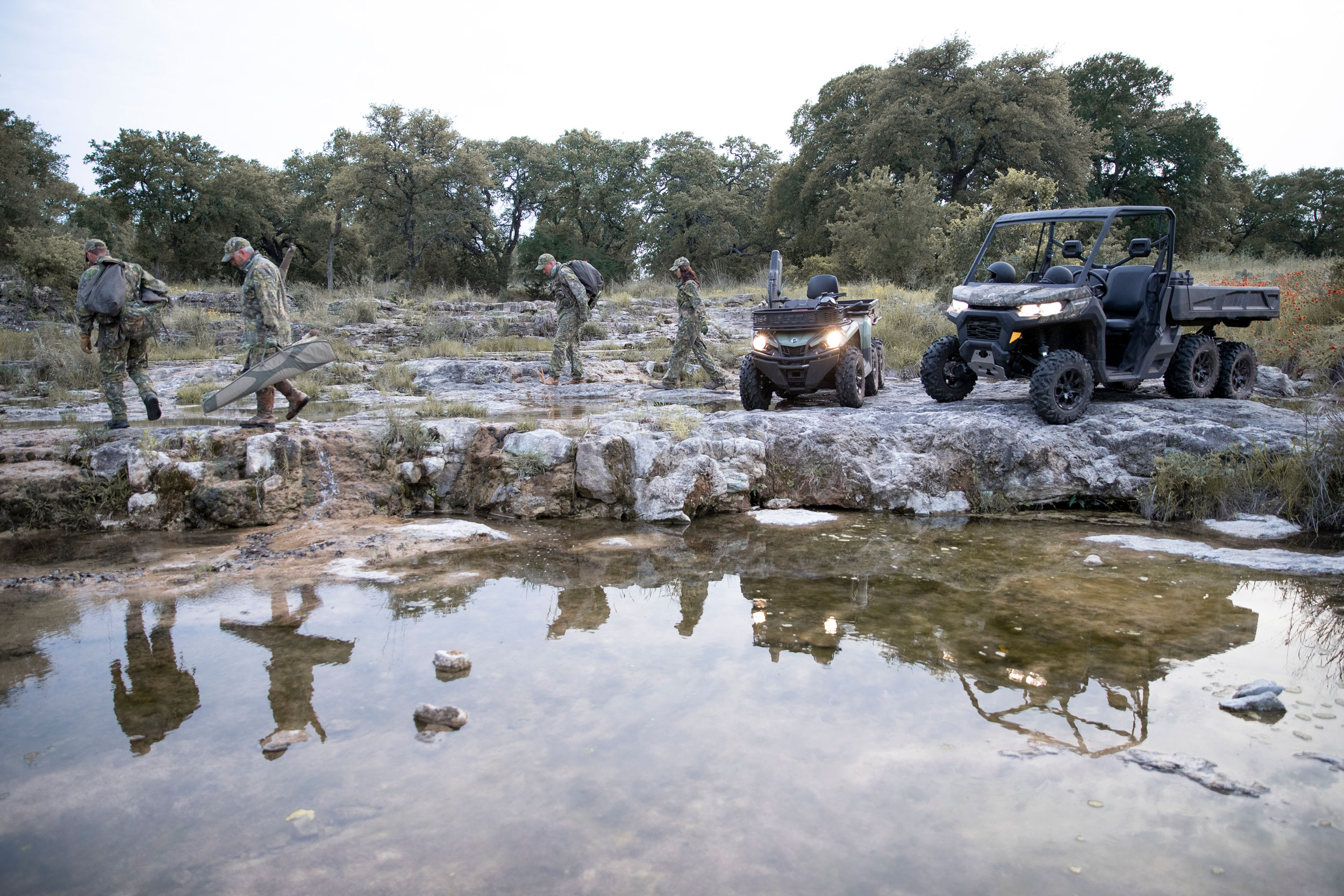 Choosing the Best ATV or Side-by-Side/UTV for Hunting