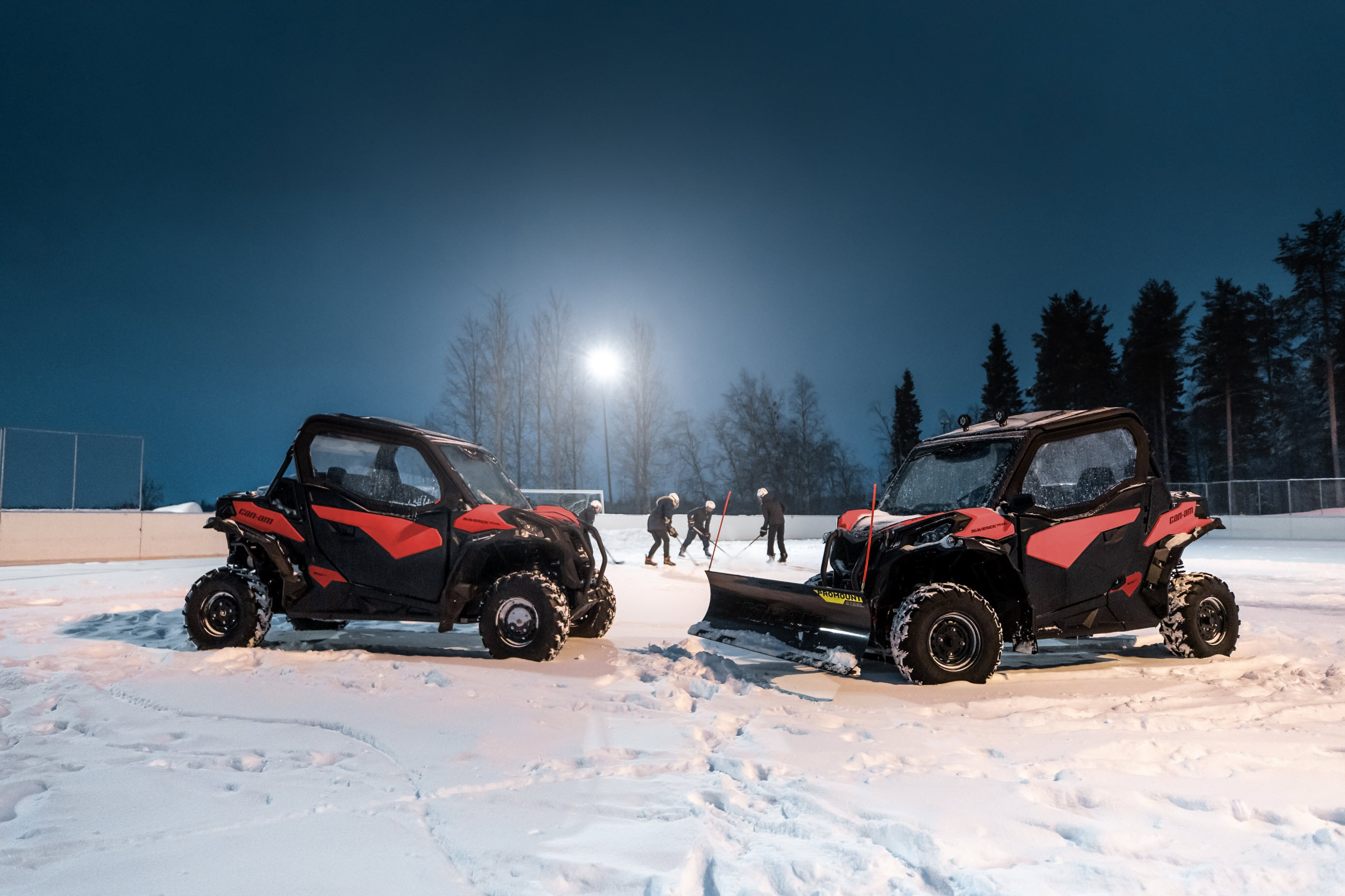 Can-Am side-by-side winter accessories