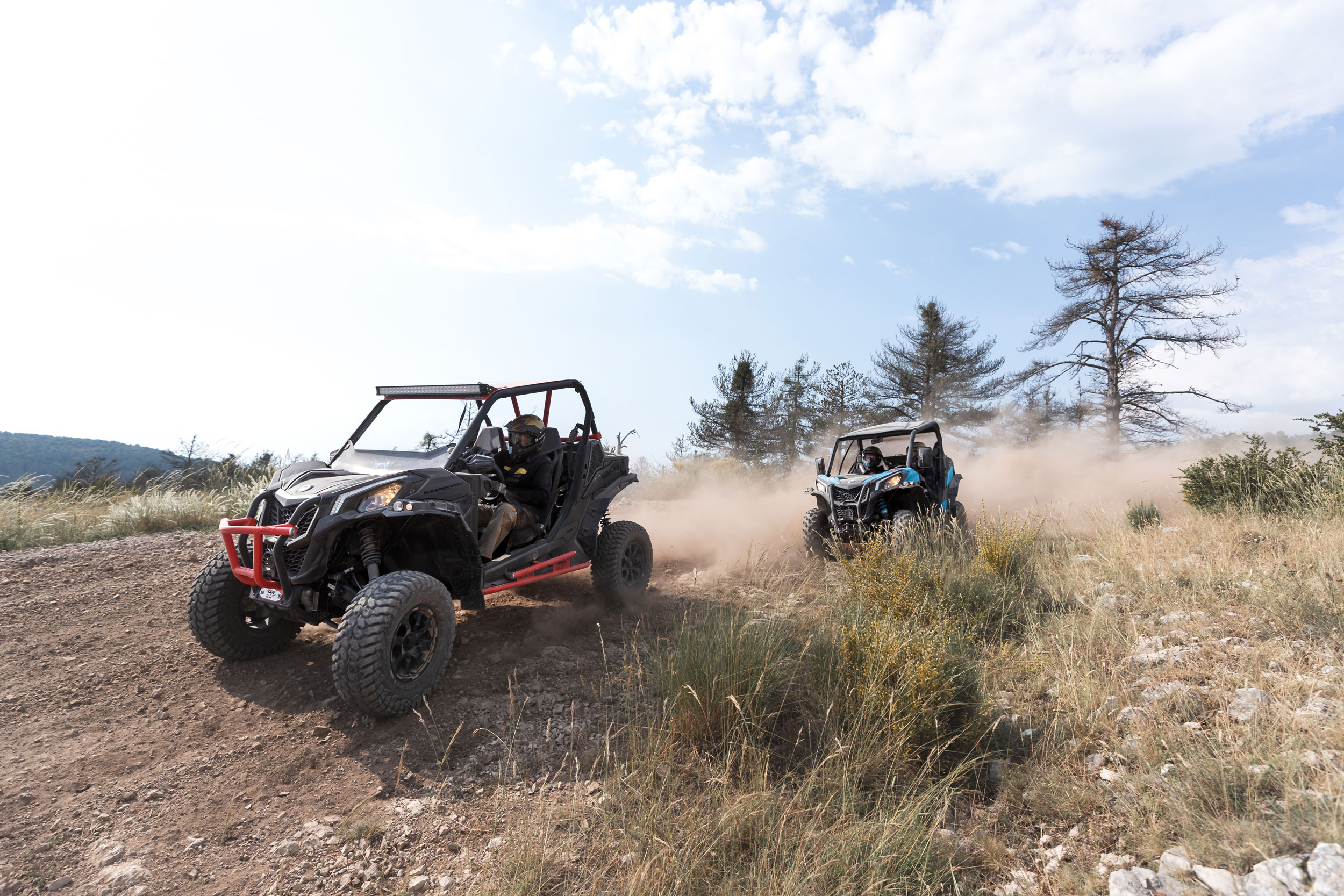 Gama de ATV y side-by-side Off-Road