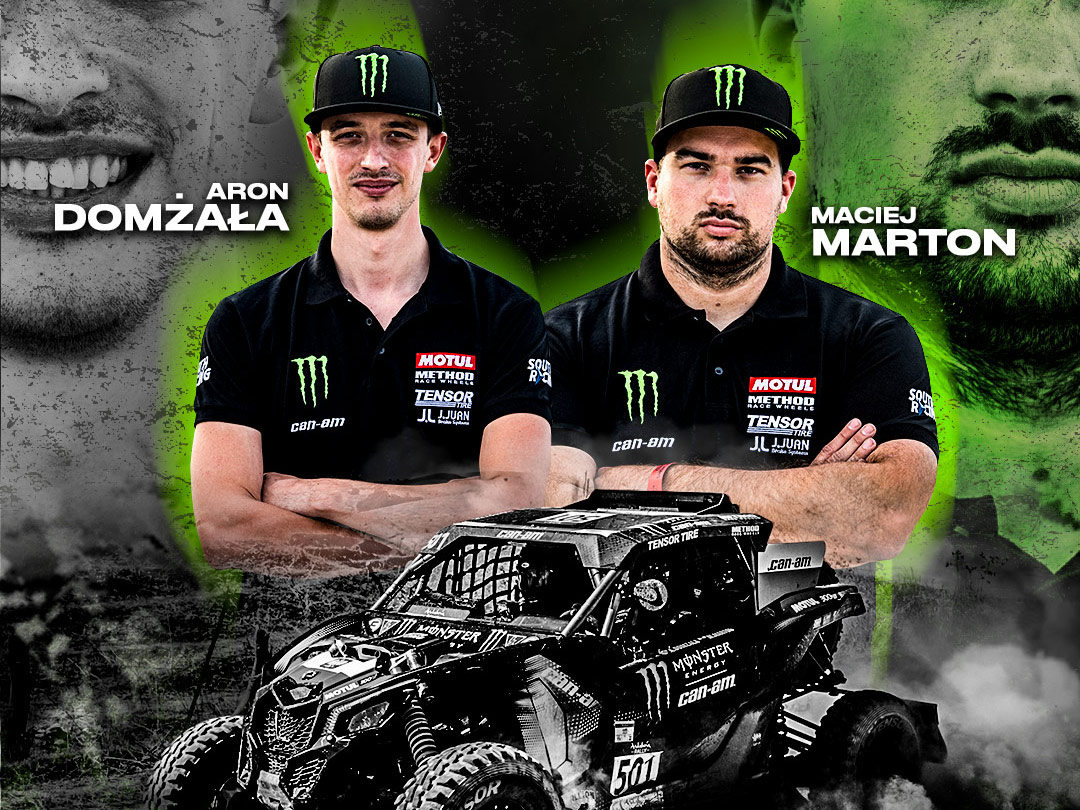 Monster Energy Can-Am racers joining the team this year