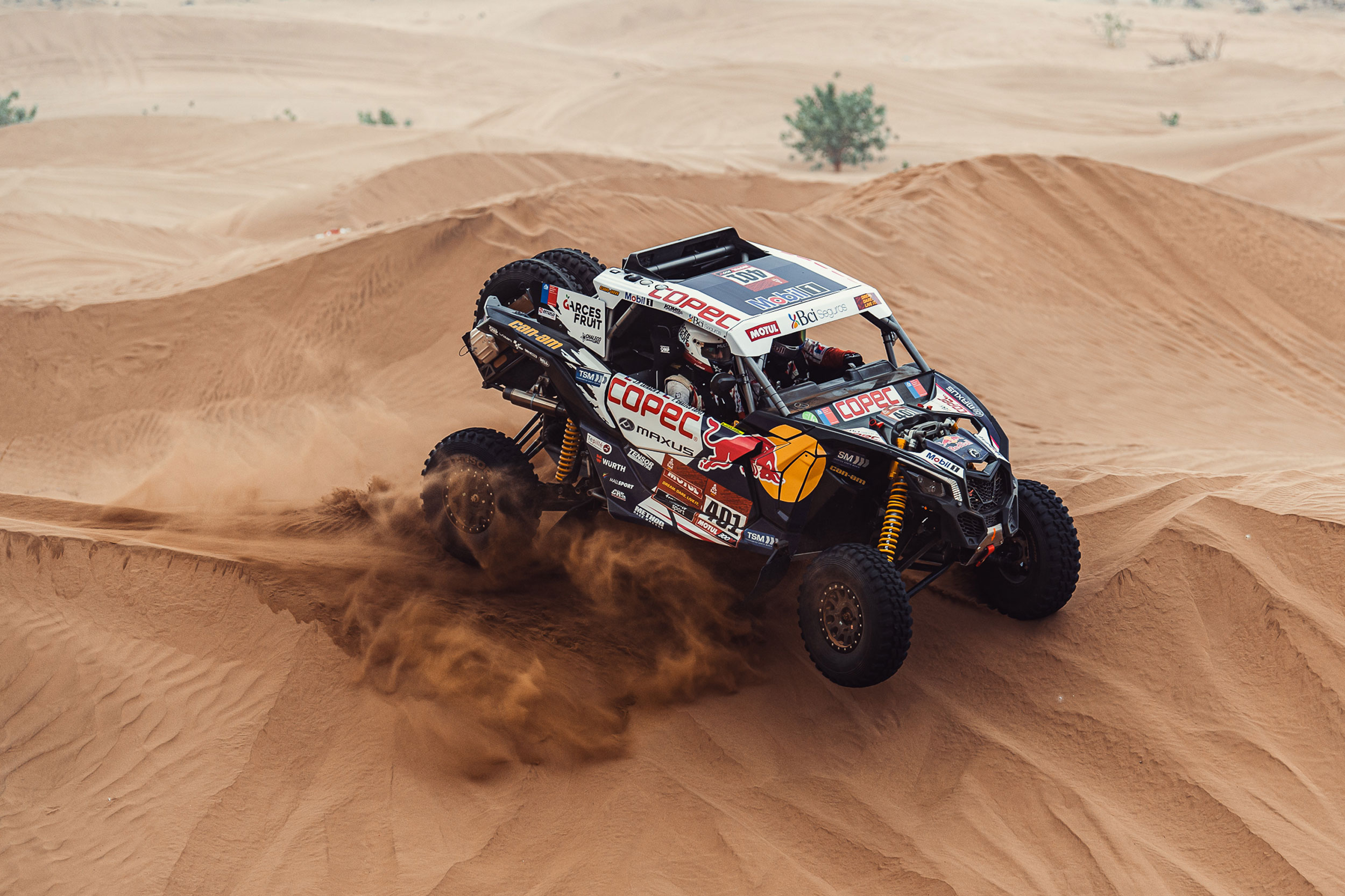 Dakar Can-Am 2021 Race rally dunes maverick