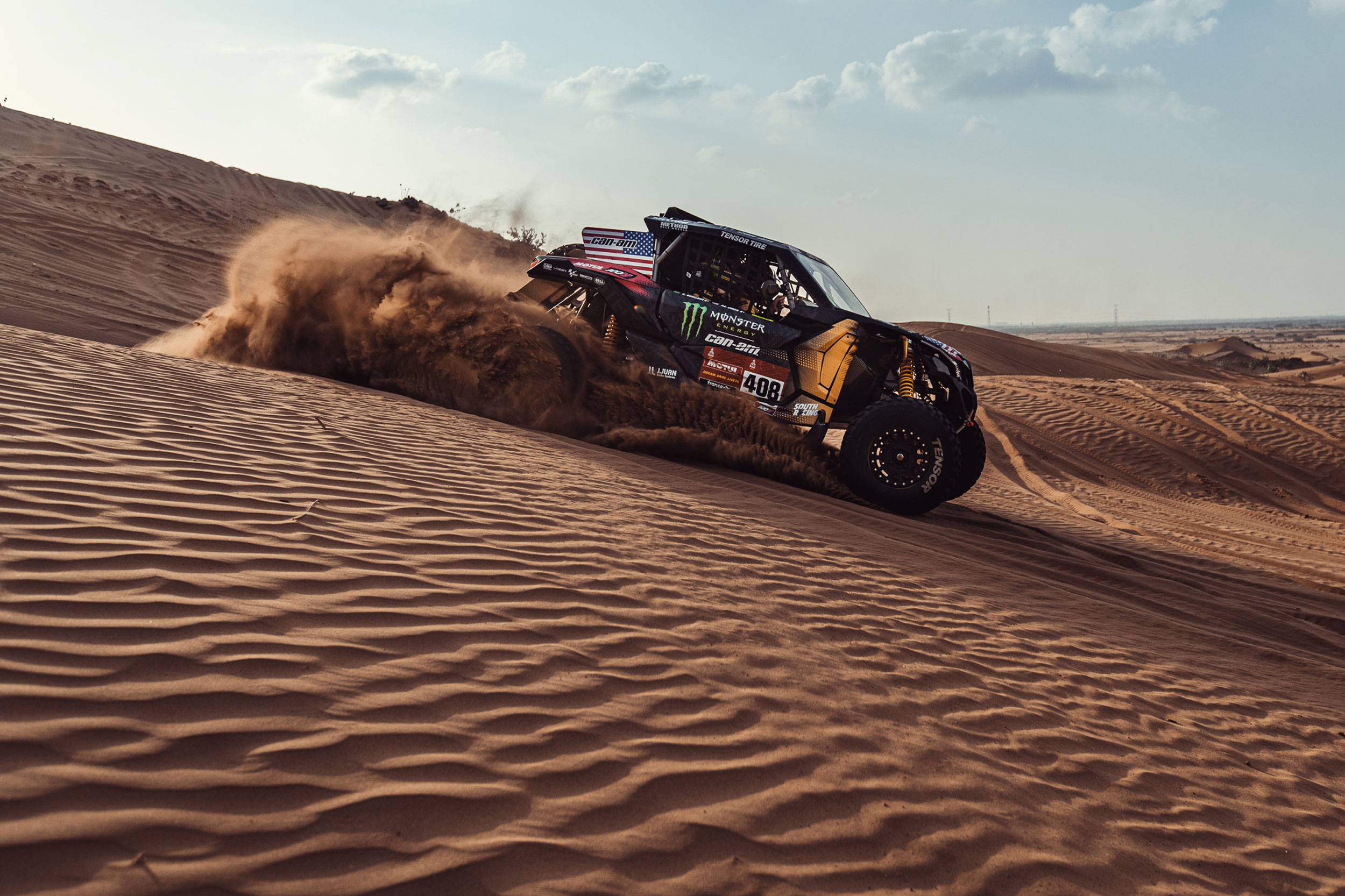 Dakar Can-Am 2021 Race rally dunes