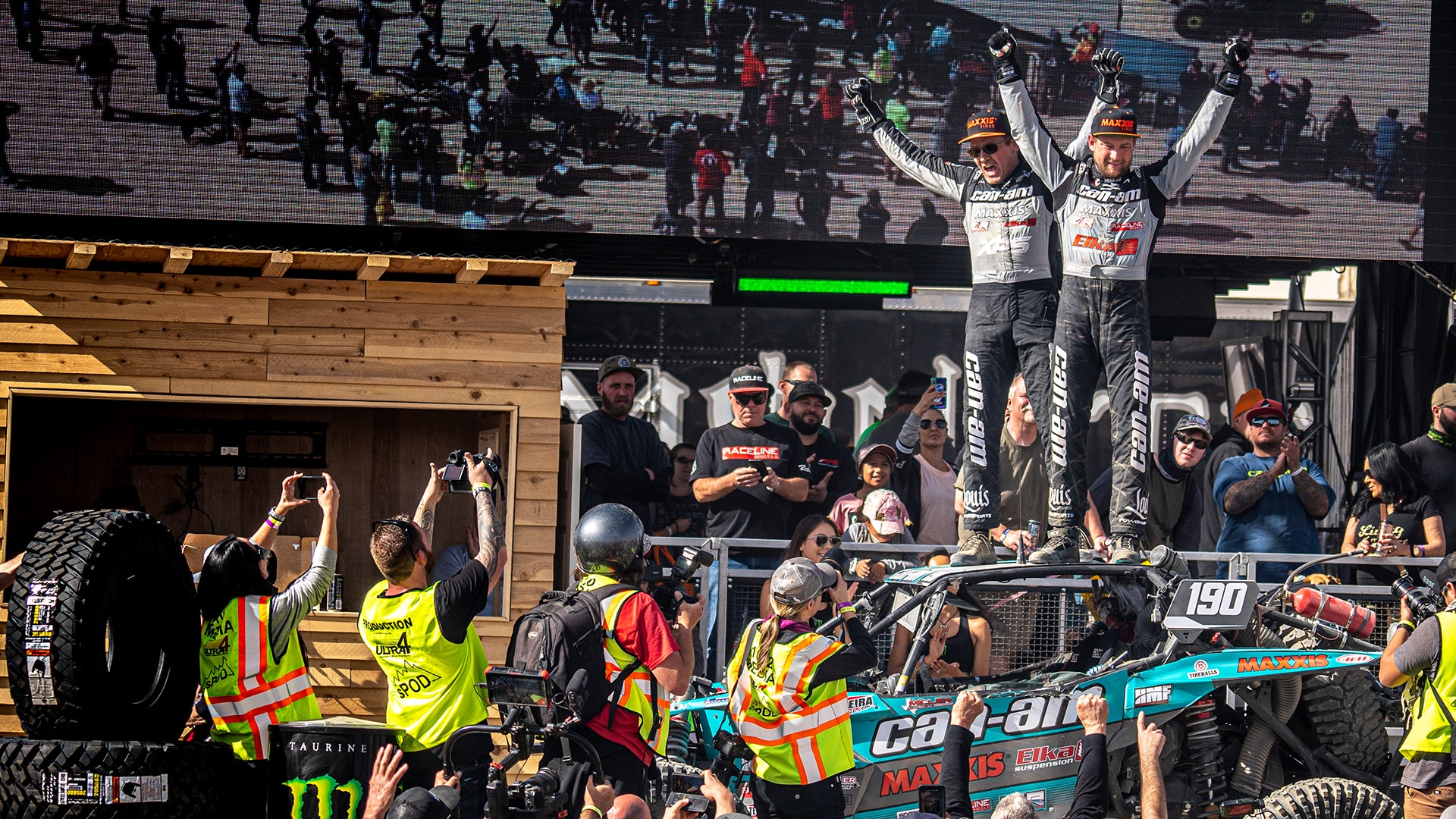 Can-Am swept the podium 1-2-3 in the 2020 King of the Hammers.