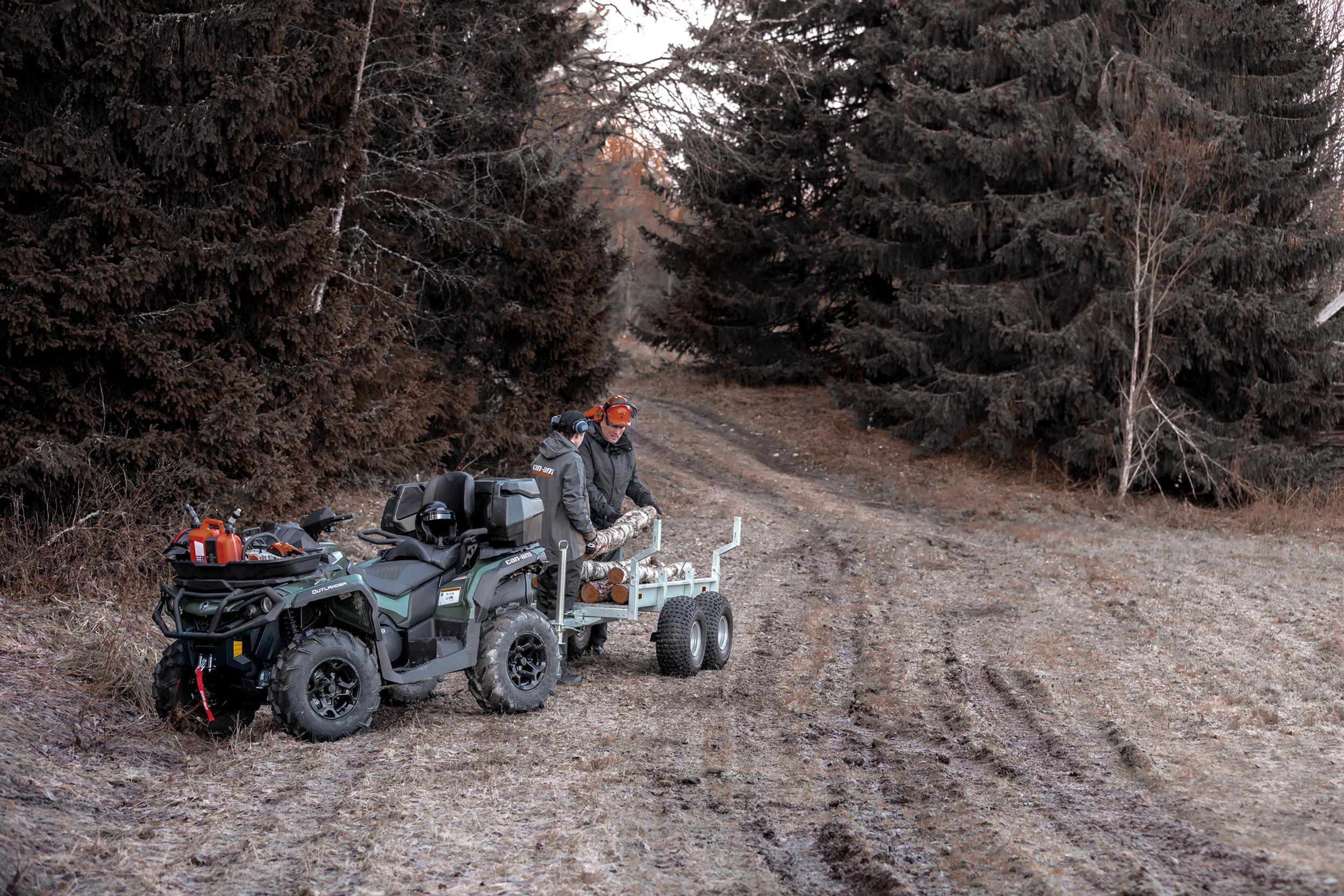 Can-Am outlander max 570 woods