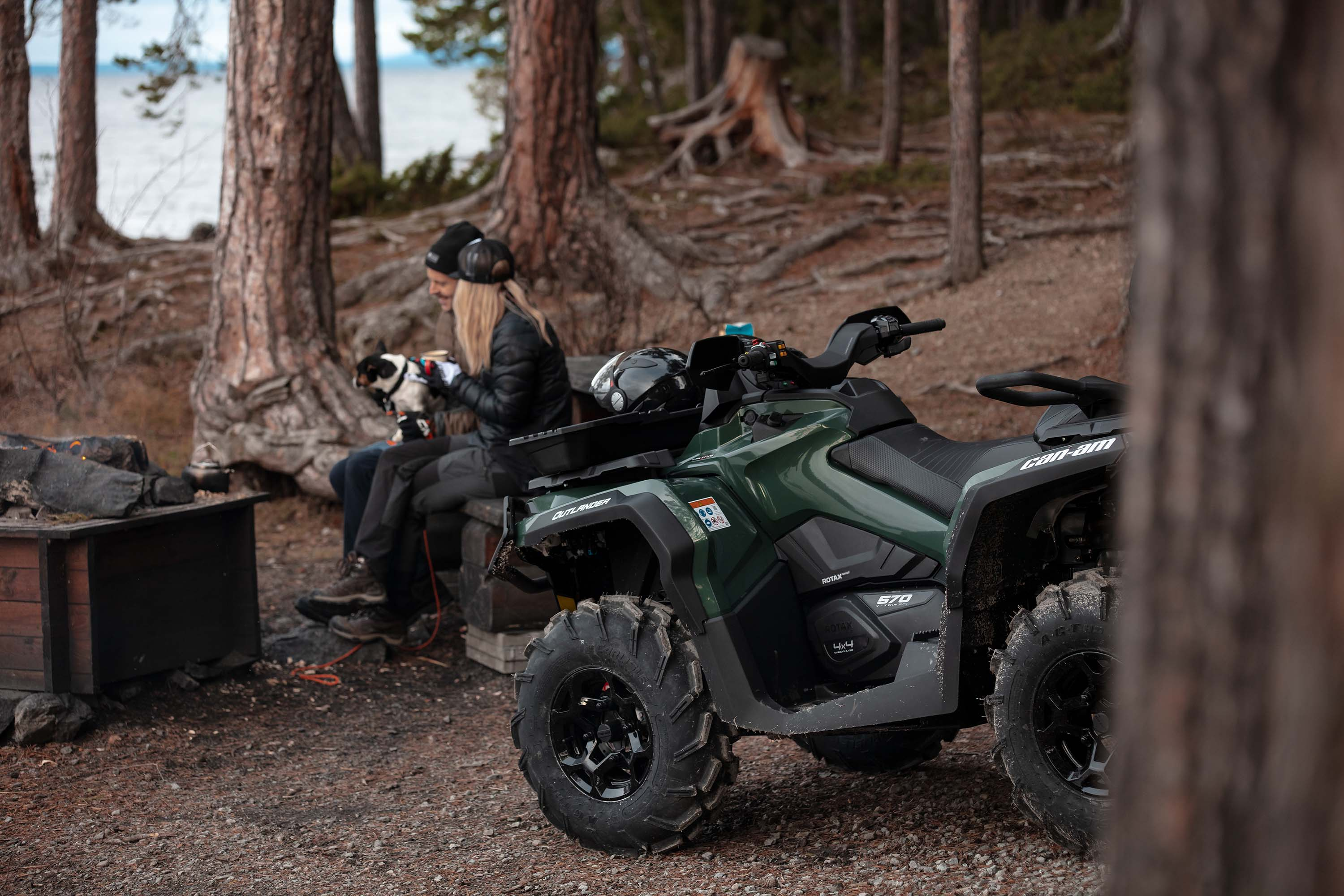 Can-Am Outlander ATV Colorations